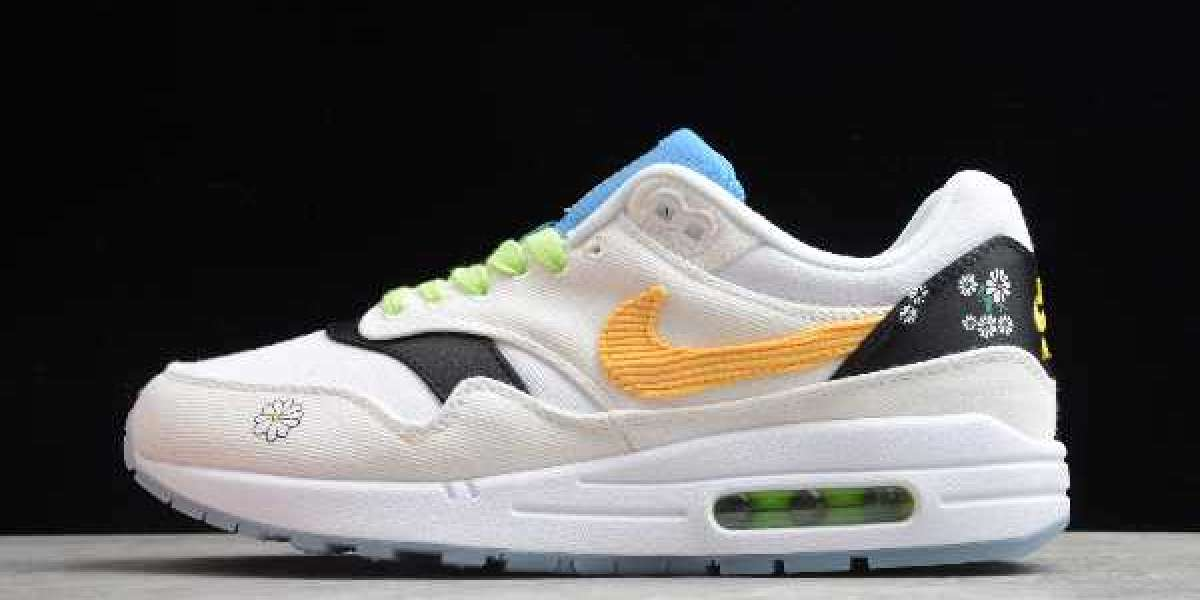 "Nike Air Max 1 ""Daisy"" 2020 CW6031-100 is now on sale"