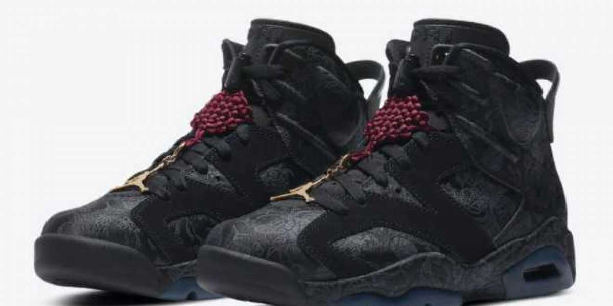 The Chinese style silk Air Jordan 6 is so beautiful! you deserve to have!