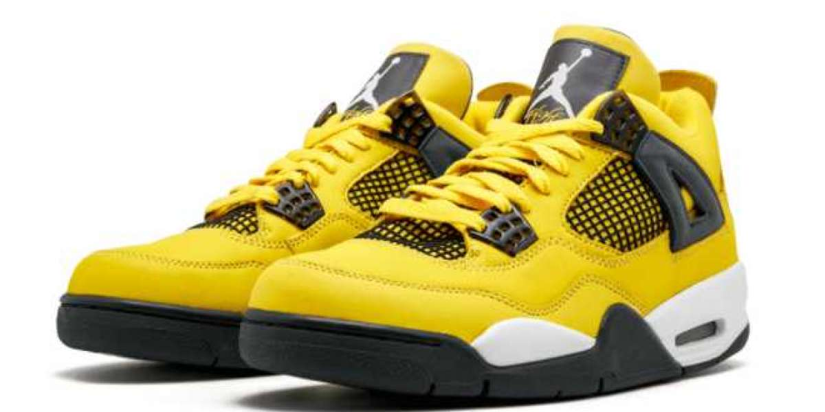 "The Air Jordan 4 Retro ""Lightning"" Tour 2021 Brand New CT8527-700 For Sale Online"