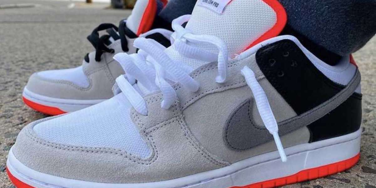 """Nike SB Dunk Low """"Infrared"""" Neutral 2020 Hot sell CD2563-004"""