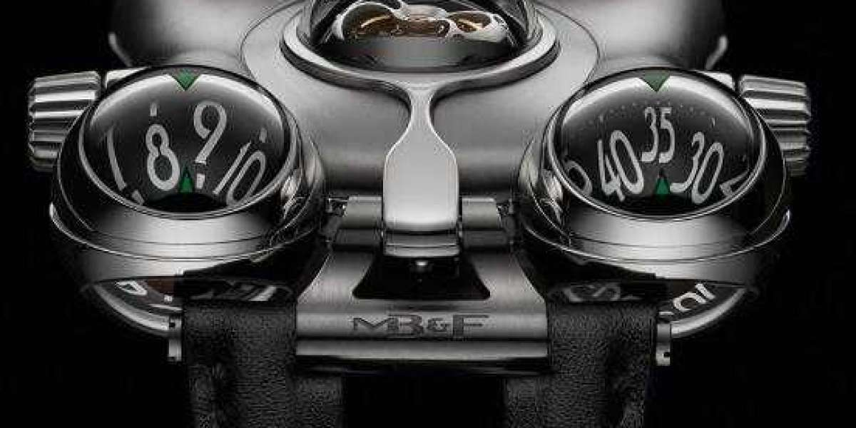 MB&F HM1 Horological Machine N1 Red Gold 10.T41RL.S watch