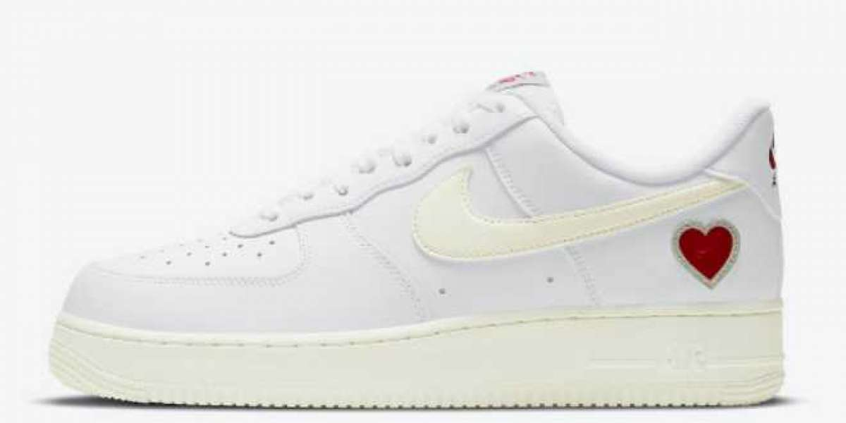 """Nike Air Force 1 """"Valentine's Day"""" to release in February 2021"""