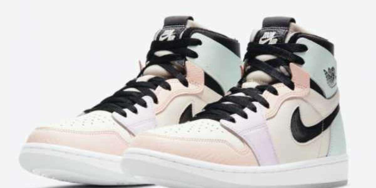 """2021 Release Air Jordan 1 Zoom Comfort """"Easter"""" CT0979-101"""