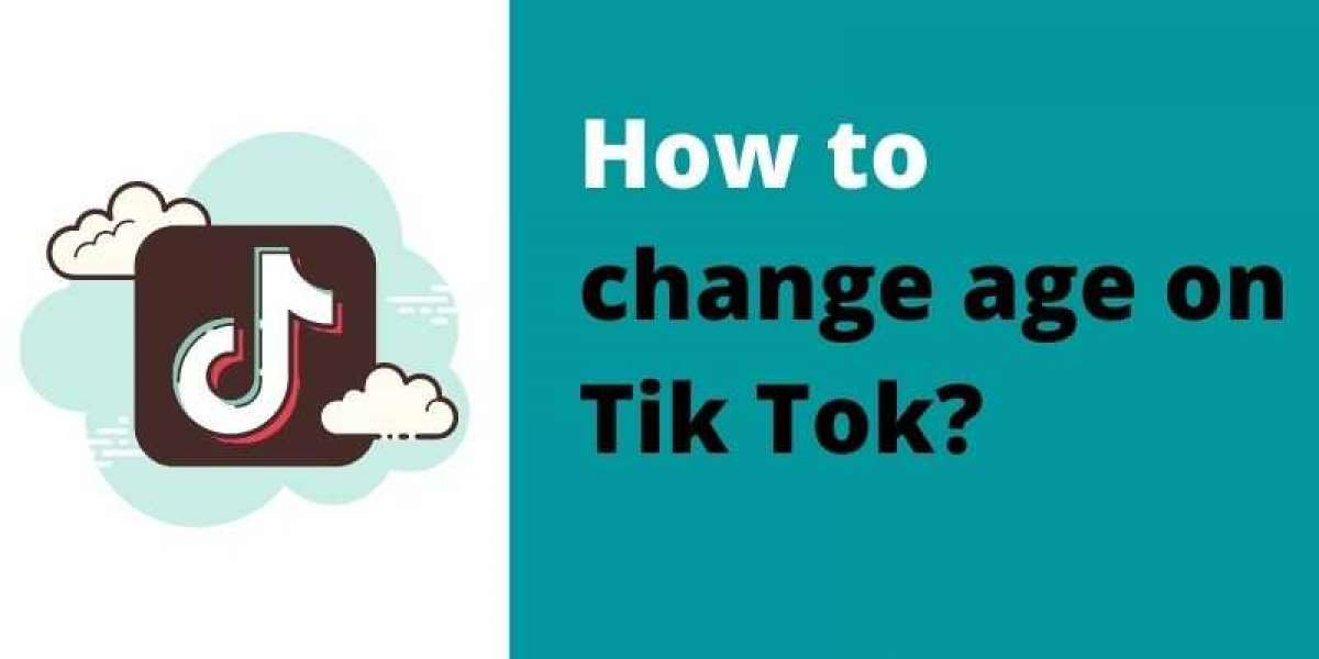 How to change age on Tik Tok?
