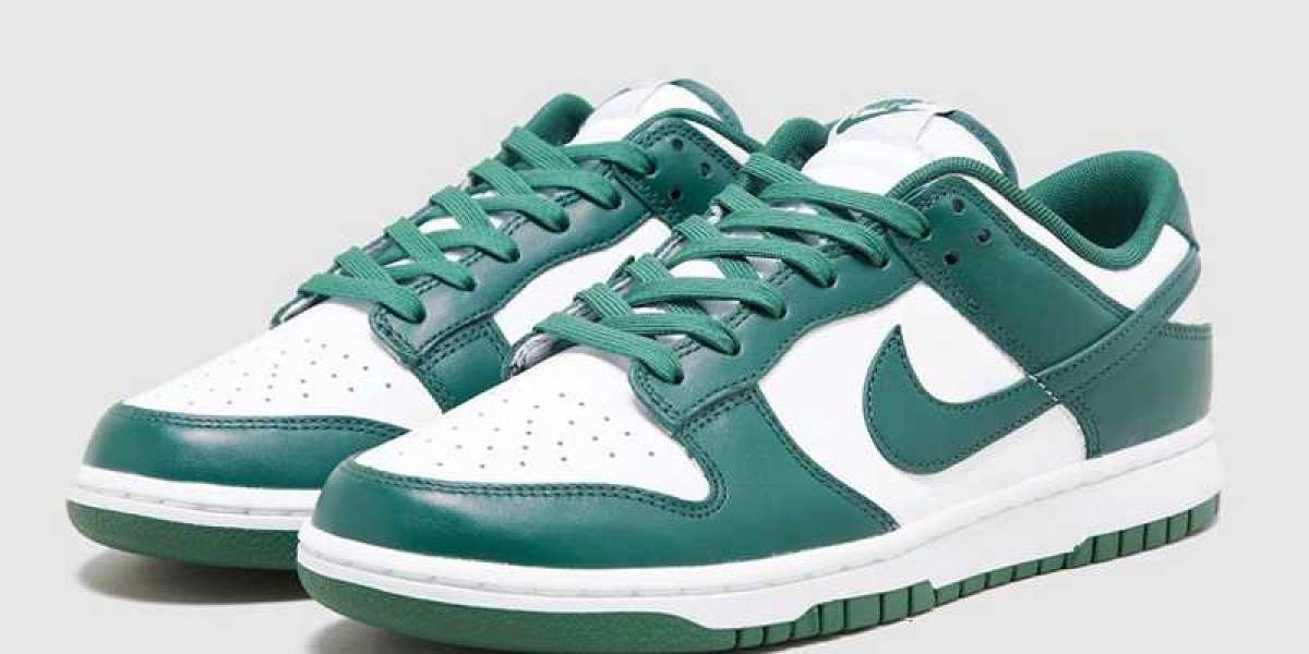"The Nike Dunk Low ""Team Green"" DD1391-101 shoes are really cheap!"
