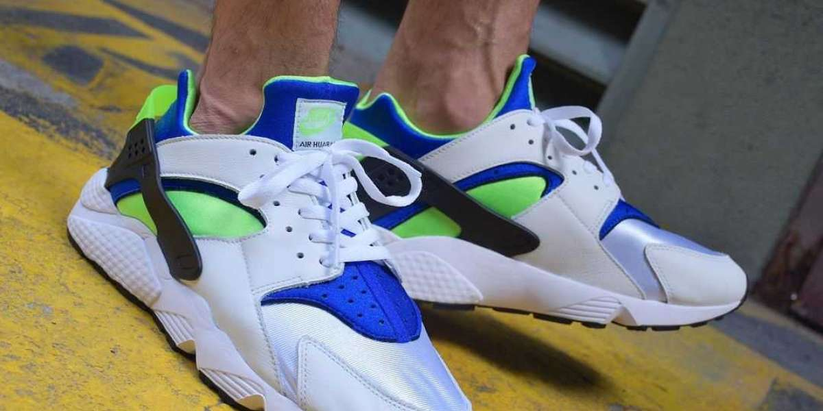 "The Nike Air Huarache OG ""Scream Green"" DD1068-100 Cheap For Sale!"
