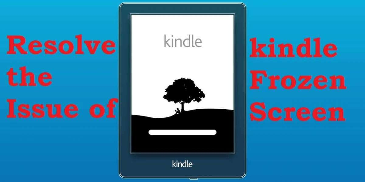 HOW TO RESOLVE THE ISSUE OF KINDLE FROZEN SCREEN - EtalkTech