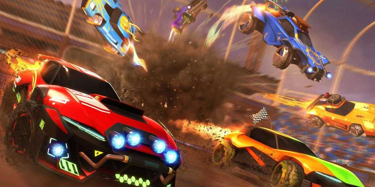Vehicles in Rocket League in no way seem to run out of gas