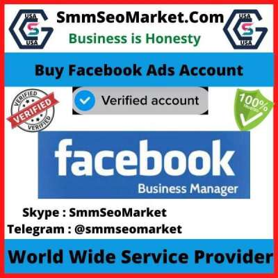Buy Facebook Ads Account Profile Picture