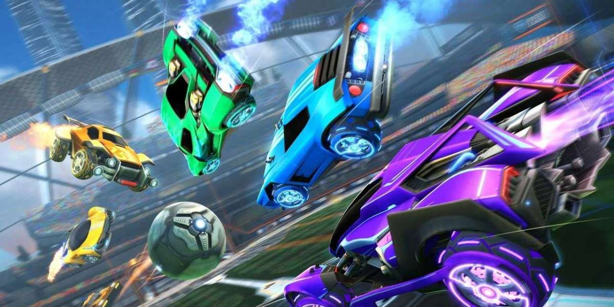 Rocket League gamers on Xbox One Nintendo Switch